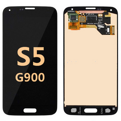 back and front for Samsung Galaxy S5 G900 LCD black
