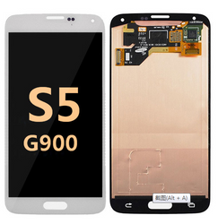 back and front for Samsung Galaxy S5 G900 LCD white
