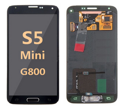 Back and front for Samsung Galaxy S5 Mini LCD Black