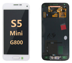 Back and front for Samsung Galaxy S5 Mini LCD White
