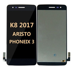 Lcd for LG K8 2017 (Aristo MS210)  Black