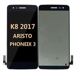 Lcd for LG K8 2017 (Aristo MS210)  Black