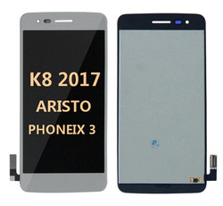 Lcd for LG K8 2017 (Aristo MS210)  Silver