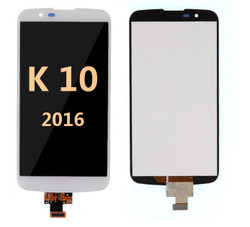 Lcd screen for LG K10 2016  White