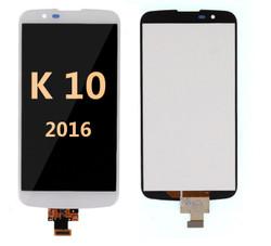Lcd screen for LG K10 2016  White