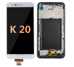LCD and Digitizer Assembly for LG K20 (VS 501) White