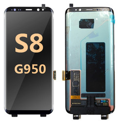back and front for Samsung Galaxy S8 G950 LCD Black