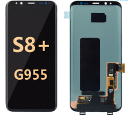 Back and front for Samsung Galaxy S8 Plus G955 LCD Black