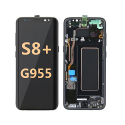 back and front with Frame for Samsung Galaxy S8 plus G955 LCD Gray