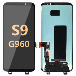 Back and front for Samsung Galaxy S9 LCD Black