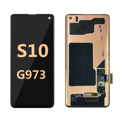 Back and front for Samsung Galaxy S10 G965 LCD Black