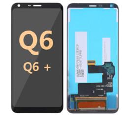 Lcd for LG Q6 Q6 Plus  Black
