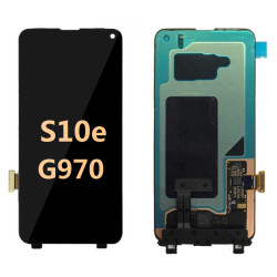 Back and front for Samsung galaxy S10e G970 LCD Black
