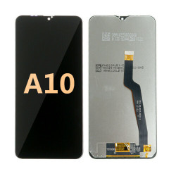 Back and front for Samsung Galaxy A10 LCD Black