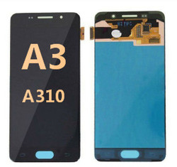 Back and front  for Samsung Galaxy A3 (A310) LCD Black