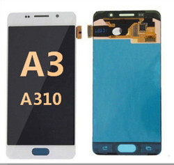 Back and front  for Samsung Galaxy A3 (A310) LCD  White
