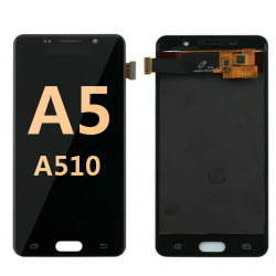 Back and front for Samsung Galaxy A5 2016/A510 LCD Black