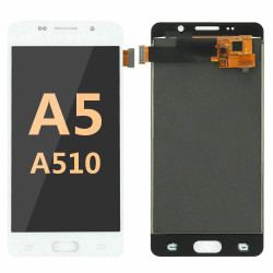 Back and front for Samsung Galaxy A5 2016/A510 LCD White