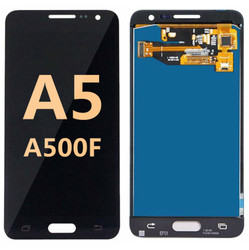 Back and front for Samsung Galaxy A500F LCD Black