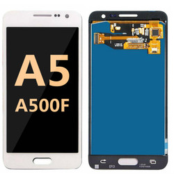 Back and front for Samsung Galaxy A500F LCD white