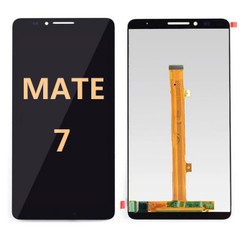 mate 7  black  screen