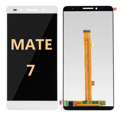 mate 7  white screen