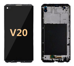 Lcd for LG V20 Black with  frame