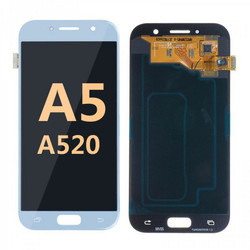 Back and front for Samsung Galaxy A520 LCD white