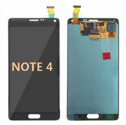 Back and front for Samsung Galaxy Note 4 LCD Black