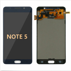 Back and front for Samsung Galaxy Note 5 LCD Black