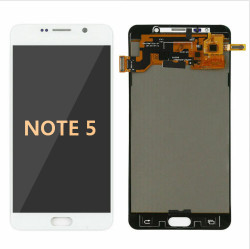 Back and front for Samsung Galaxy Note 5 LCD white