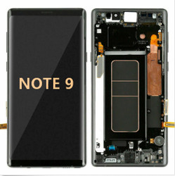 Back and front with Frame for Samsung Galaxy Note 9 LCD Black