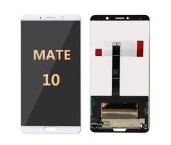 mate 10  white screen