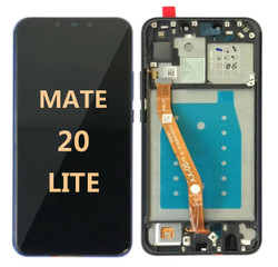 Mate 20 Lite  black (with frame)