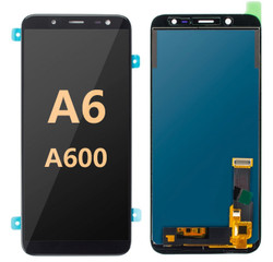 Back and front for Samsung Galaxy A6 / A600 LCD Black