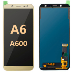 Back and front for Samsung Galaxy A6 / A600 LCD Gold