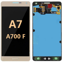 Back and front  for Samsung Galaxy A700F LCD Gold