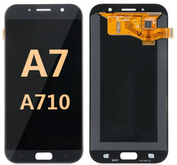 Back and front for Samsung Galaxy A701/A7 2016 LCD Black
