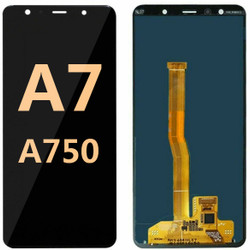 Back and front for Samsung Galaxy A750 LCD Black