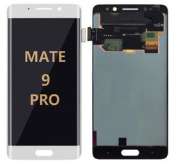 Back and front for Huawei Mate 9 Pro LCD White