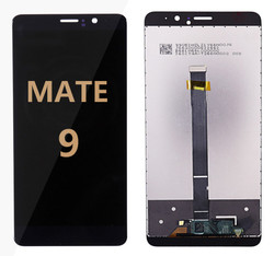 Back and front for Huawei Mate 9 LCD Black