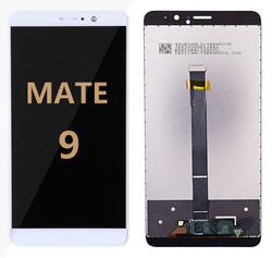Back and front for Huawei Mate 9 LCD White