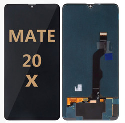 Back and front for Huawei Mate 20 X LCD Black