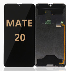 Back and front for huawei mate 20 LCD black