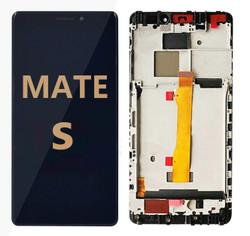 Back and front with frame for huawei mate S LCD Black