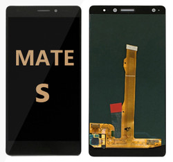 Back and front for huawei mate S LCD black