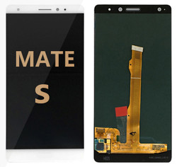 Back and front for huawei mate S LCD white