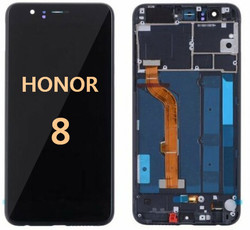 Back and front for Honor 8 LCD Black