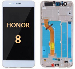 Back and front for Honor 8 LCD white