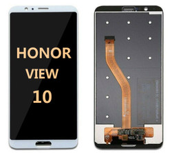 Back and front for Honor view 20 LCD Black